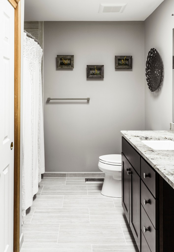 Bathroom Remodeling West Chester Pa updated white bathroom renovation chester county pa - west chester pa